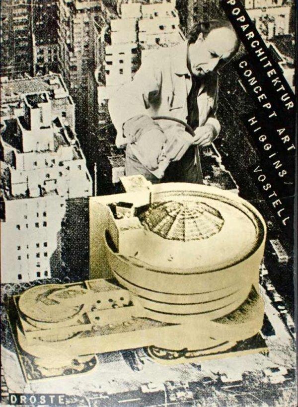 Pop Architektur Concept Art / Dick Higgins, Wolf Vostell