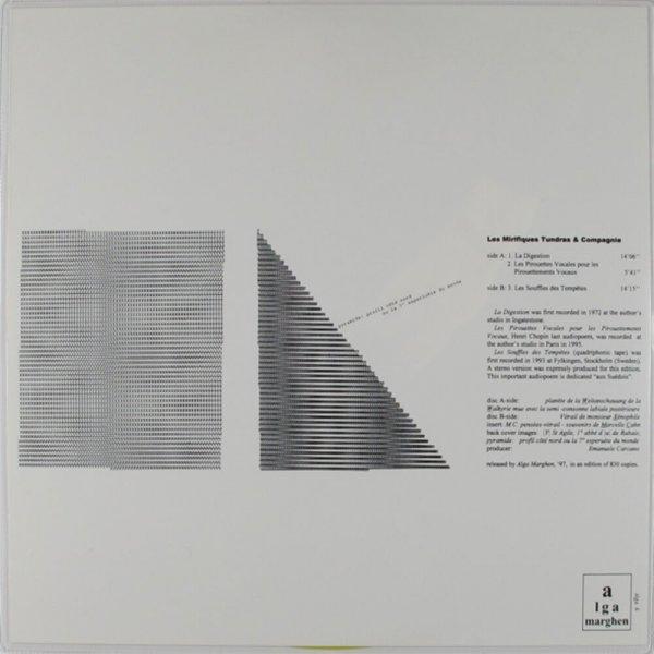 Les mirifiques tundras & compagnie / Henri Chopin