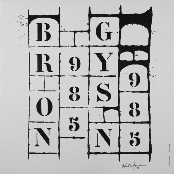 Poems of poems / Brion Gysin