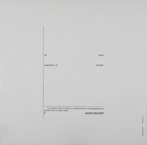 L'anticoncept / Gil J. Wolman