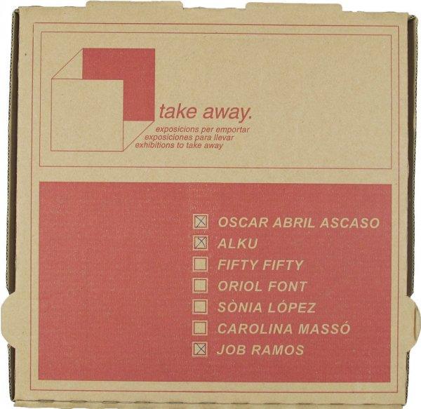 Take away : exposicions per emportar = exposiciones para llevar = exhibitions to take away