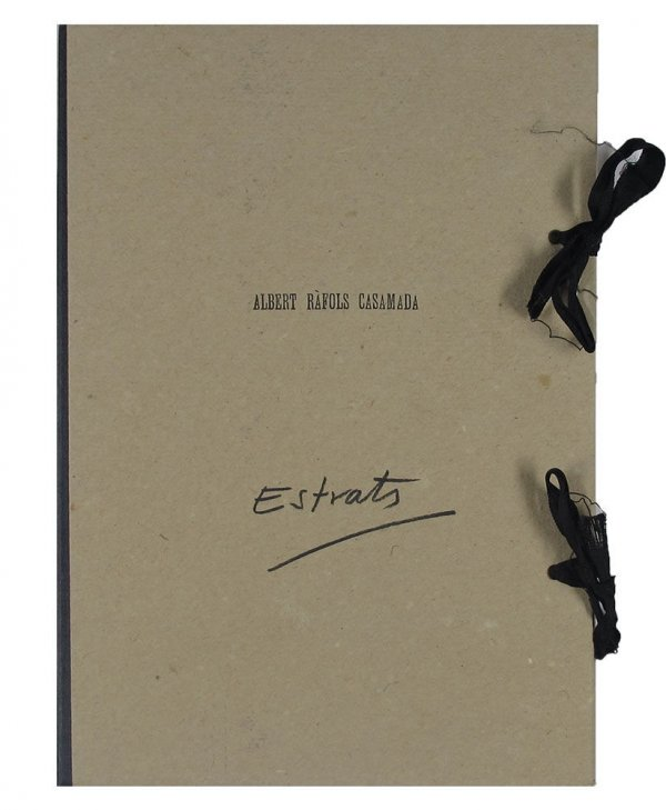 Estrats : poemes visuals / Albert Ràfols Casamada