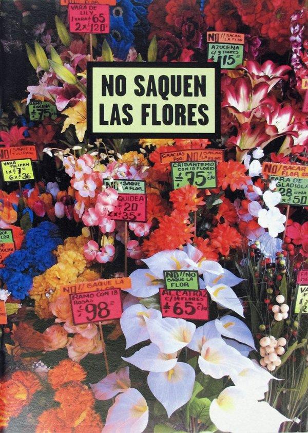 No saquen las flores