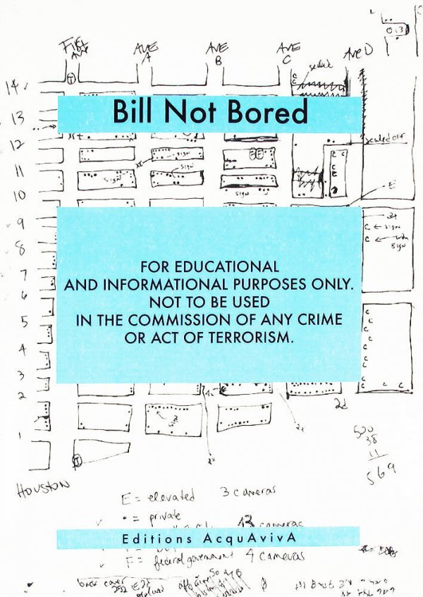 For educational and informational purposes only. Not to be used in the commission of any crime or act of terrorism / Bill Not Bored