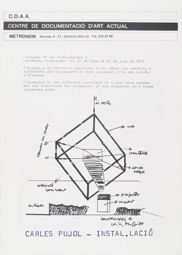 Carles Pujol : instal·lació
