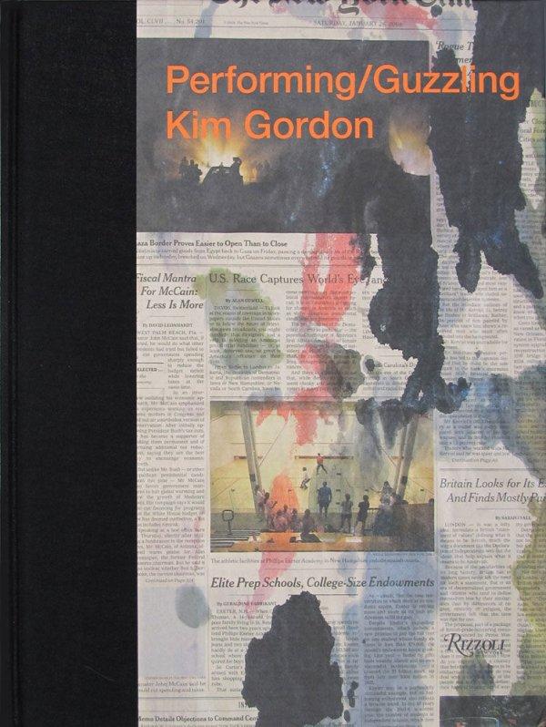 Performing/guzzling / Kim Gordon