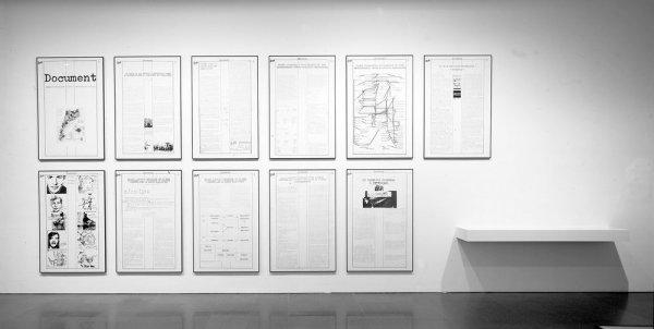 Champ d'attraction. Document. Travail d'information sur la presse illégale des Pays Catalans. 9è Biennale de Paris