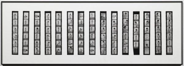 Íntimo y personal [Documentació de l'acció realitzada el 1977 al taller de Fernando Lerín a París. Fotògrafa: Ethel Blum]