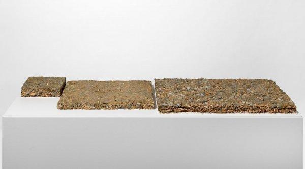 Compostatge de nou pintures, compostatge de sis pintures i compostatge d'una pintura amb marc i vidre