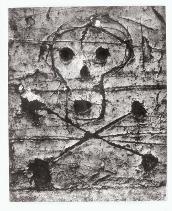"""Sense títol. Graffiti. Sèrie VII: """"La mort"""""""