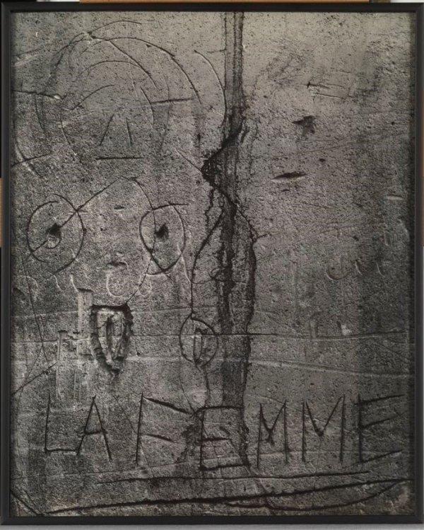 """La femme (passage Prévot). Graffiti. Sèrie VI: """"L'Amour"""""""