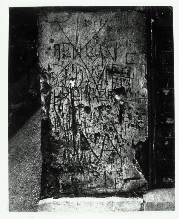 "Sense títol. Graffiti. Sèrie II: ""Langage du mur"""