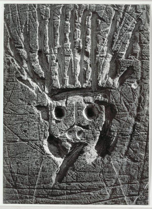 """Le Roi Soleil (Porte de Saint-Ouen). Graffiti. Sèrie IX: """"Images Primitives"""""""