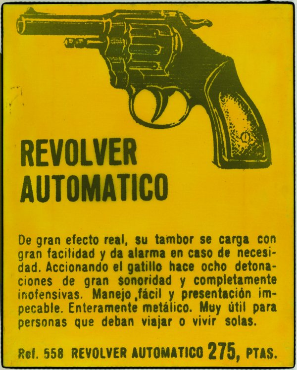 Revólver automático (de la sèrie Spain is different)