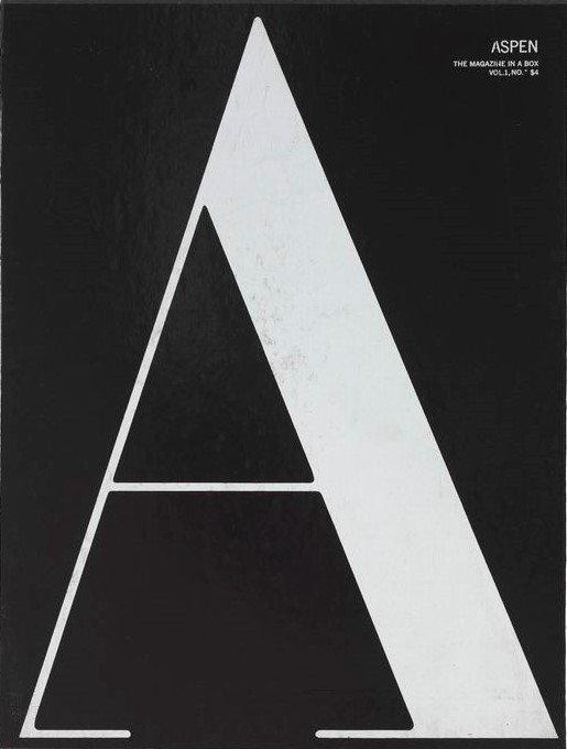 ASPEN. The Multimedia Magazine in a Box. No 1. The Black Box