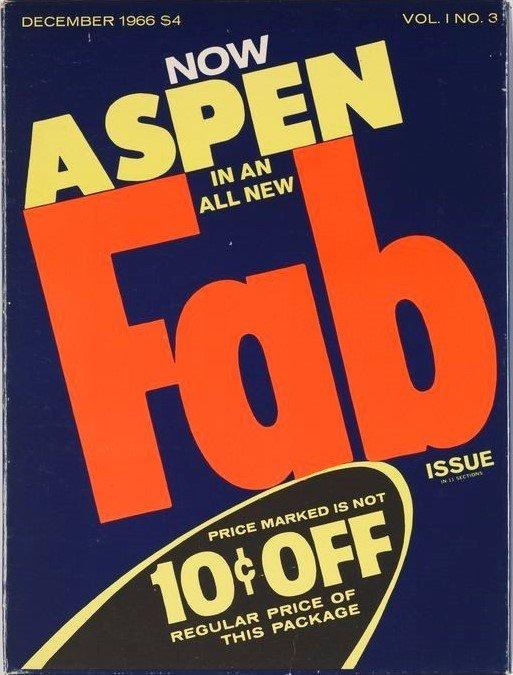 ASPEN. The Multimedia Magazine in a Box. No 3. The Pop Art issue