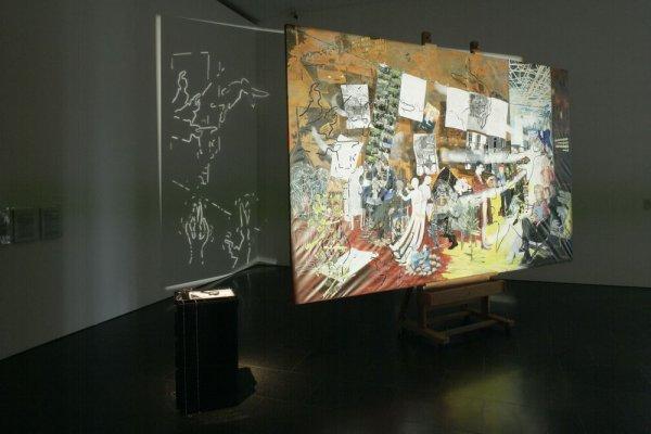 L'Atelier de la peintrice. Allégorie réelle déterminant une phase de sept années de ma vie artistique dans la République de Berlin