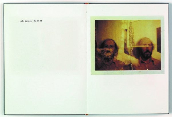 Polaroid portraits vol.2. Selfportait 11.7.80