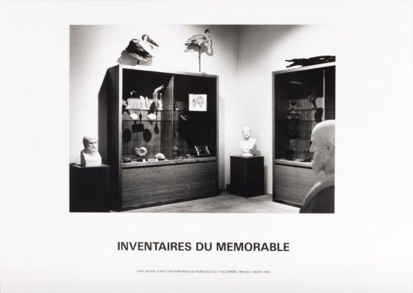 Inventaires du mémorable