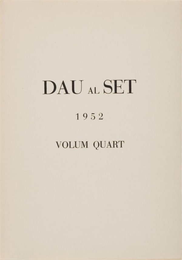 Revista Dau al Set. Volum quart