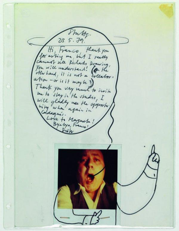 Correspondencen (per a Margarita Bombelli, per a Franco Bombelli ... a la Galeria Cadaqués)