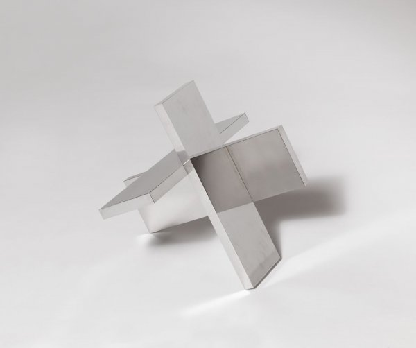 Konstruktion aus drei gleichen Platen