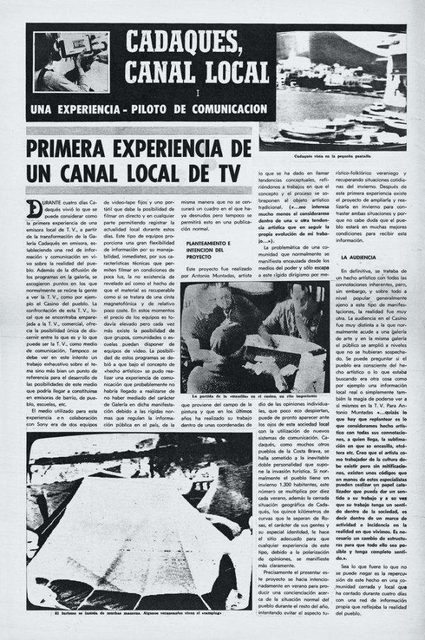 Diari de Cadaqués Canal Local