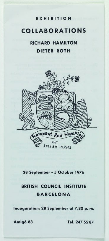 Rampant Red Hampton. The Rotham Arms