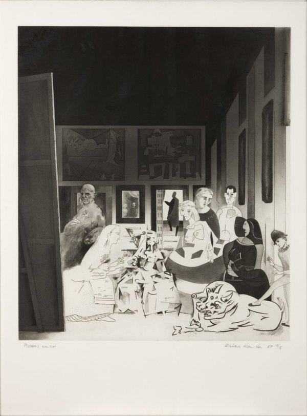 Picasso's Meninas