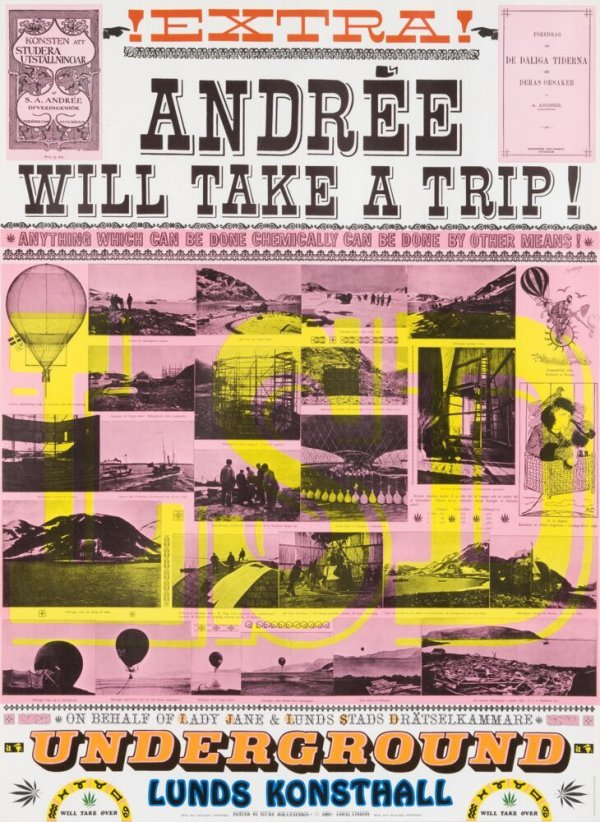 Andrée Will Take A Trip! Anything Which Can Be Done Chemically Can Be Done By Other Means!