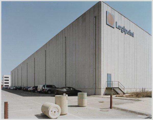 """A logistical warehause in the Zona d'Activitats Logístiques (ZAL). Sèrie: """"Connexions globals"""""""
