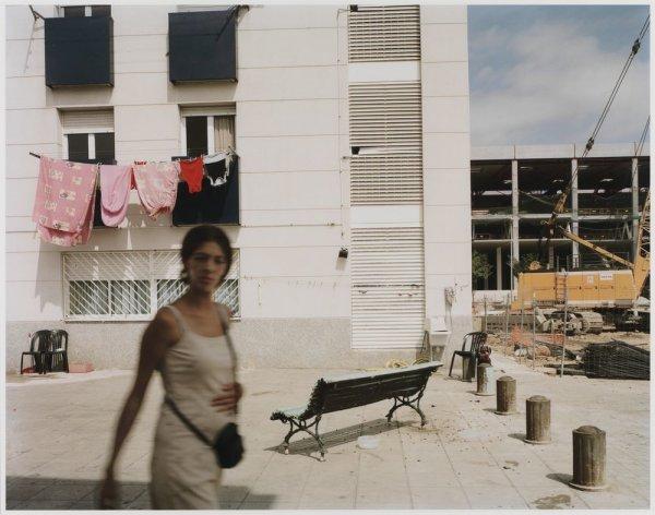"""Sant Cosme Housing Estate, El Prat del Llobregat. Sèrie: """"Connexions globals"""""""