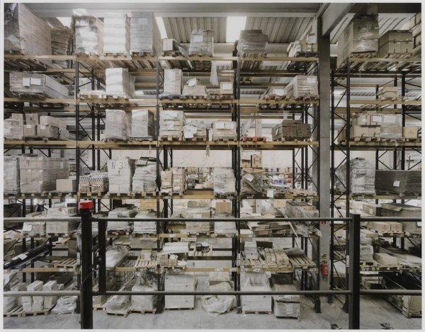 """Warehouse Interior, Zona d'Activitats Logístiques (ZAL). Sèrie: """"Connexions globals"""""""