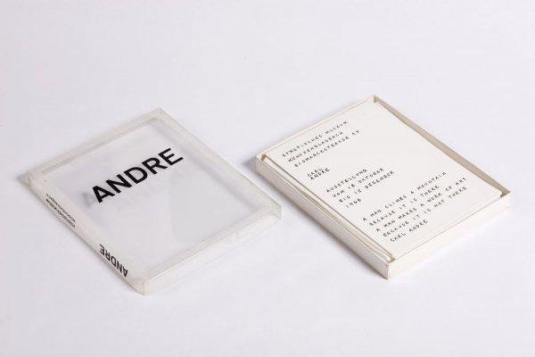 Carl Andre: Ausstellung vom 18 Oktober bis 15 Dezember 1968, Städtisches Museum Mönchengladbach