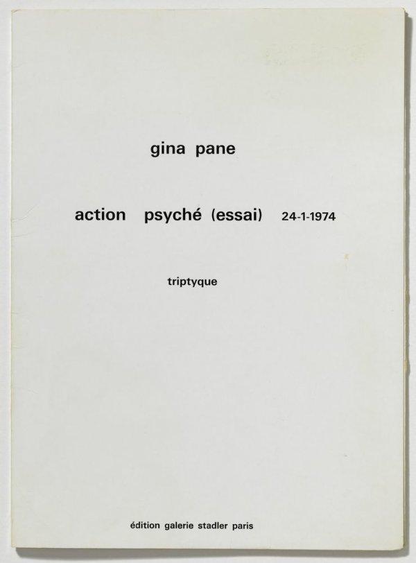 Action Psyché (essai) 24-1-1974 Triptyque