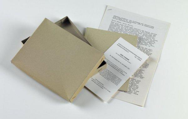 Joel Fisher. Ein undwiderruflicher Schritt: Städtisches Museum Mönchengladbach, 23 September bis 26 Oktober 1975