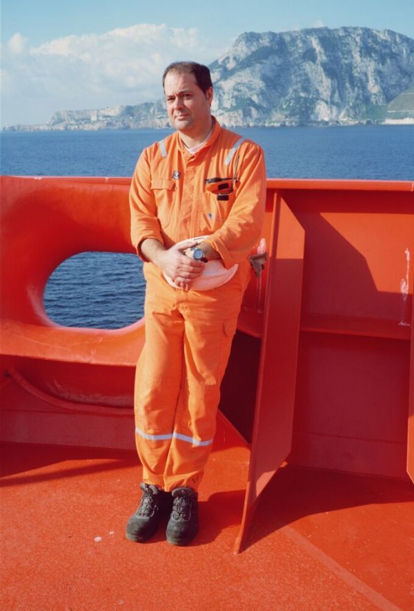 Chief Mate of the Sestao Knutsen. Sèrie: «Methane for All»