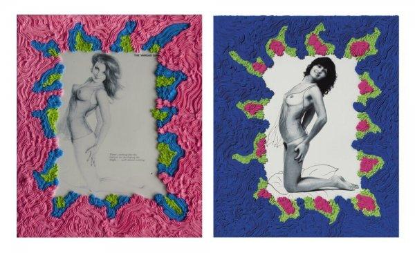 "MIMÉTISME RELATIF - Femme ""The Vargas Girl"" d'après Aslan"