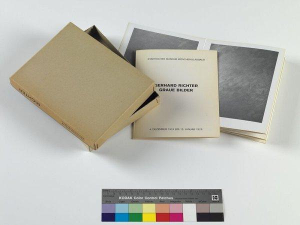 Gerhard Richter, graue Bilder: Städtisches Museum Mönchengladbach, 4 Dezember 1974 bis 12 Januar 1975
