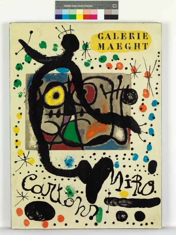 (Miró Cartons exposició Galerie Maeght)