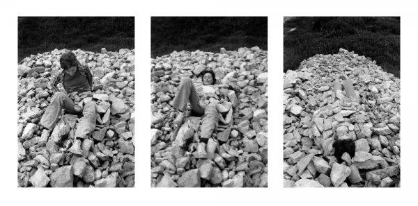 Relacions. Relació del cos amb elements naturals. El cos cobert de pedres