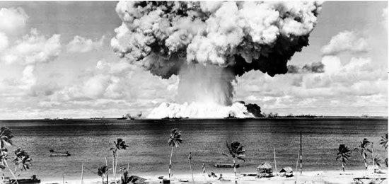 Pruebas nucleares en el atolón de Bikini, 1946