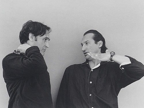 Alberto Iglesias y Juan Muñoz, Madrid, 2000