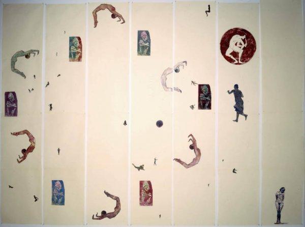 """Taller de dibujo y collage en torno de a la exposición """"Disidanzas"""""""