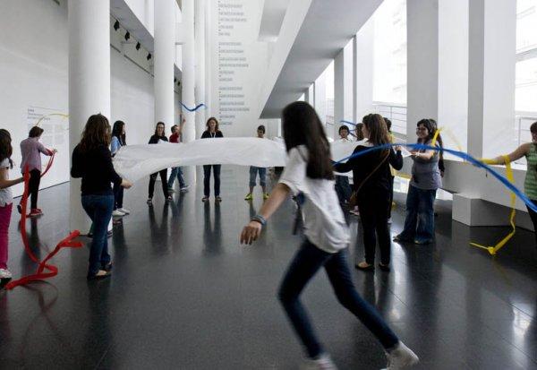 Visites performatives per a joves (2013-2014)