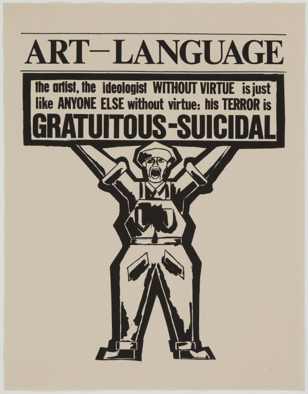 ART & LANGUAGE Incomplet