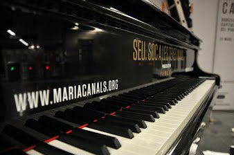 Maria Canals and the piano's resonance