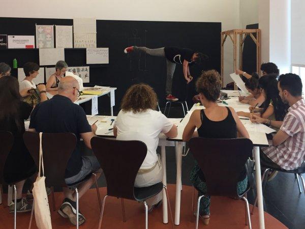 Entre l'acció i l'objecte. Laboratori d'artistes (2017)