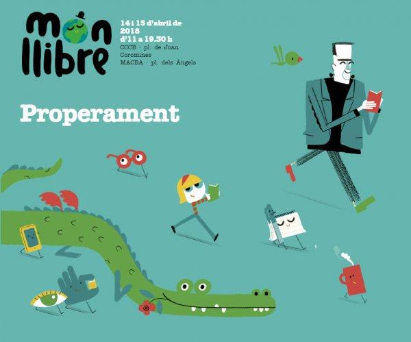 Món llibre. Festival literario para niños y jóvenes