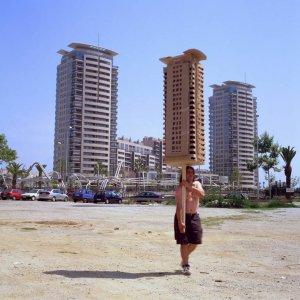 "Jordi Colomer ""Anarchitekton (Barcelona, Bucarest, Brasilia, Osaka)"", 2002-2004"